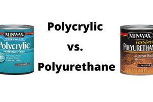 Polycrylic vs. Polyurethane – Best Finish Water Based or Oil Based?