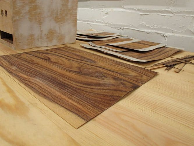 types of wood veneers