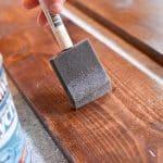 bushing finish on wood