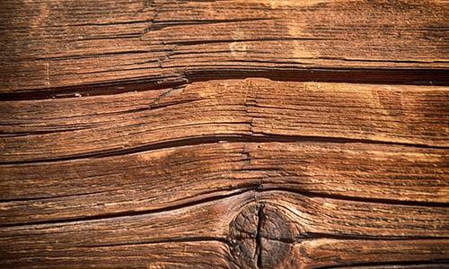 Old warped wood