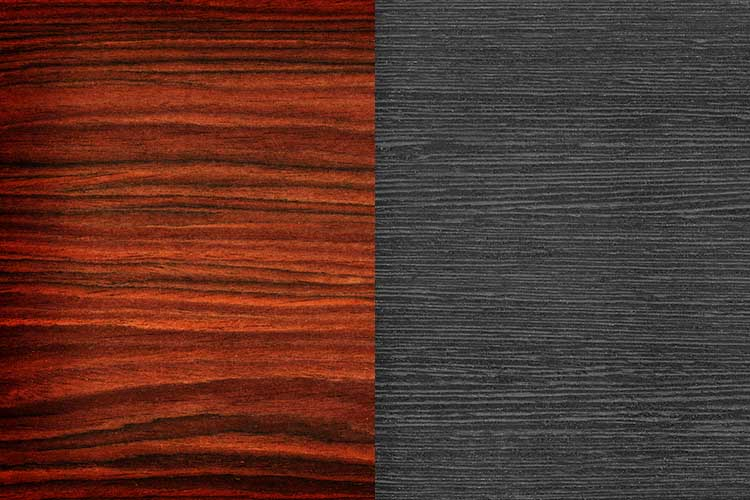 rosewood vs ebony wood
