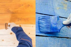 Stain vs. Paint (Pros & Cons)