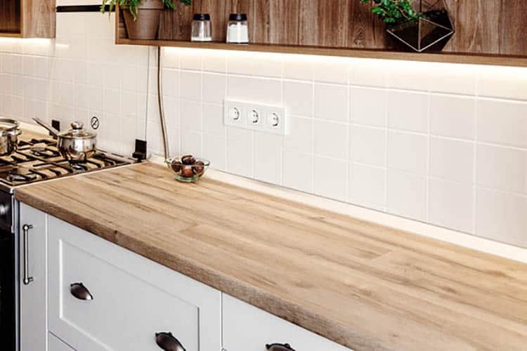 Stylish kitchen interior design. Luxury modern kitchen furnitur