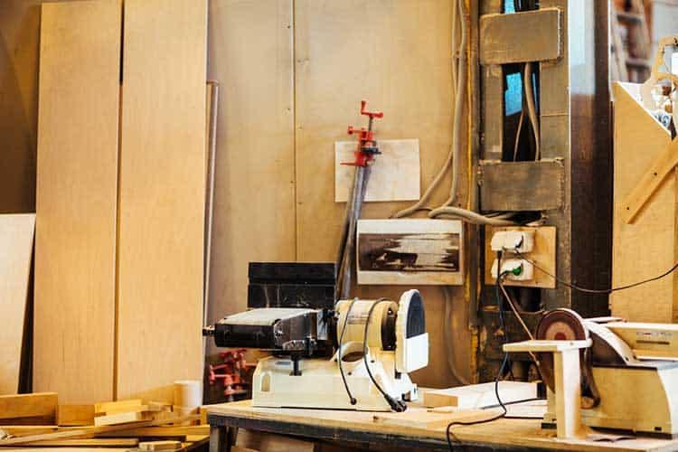 Cabinetmaker workroom