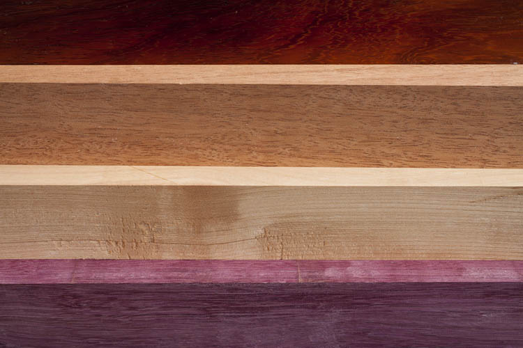 wood types and colors