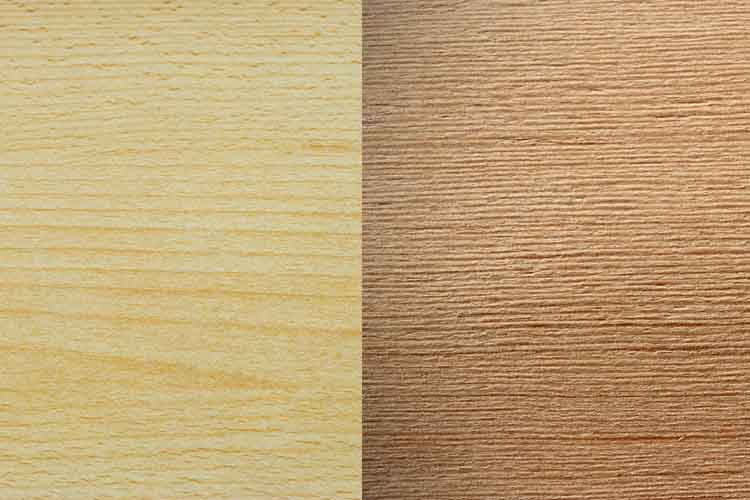 Spruce vs douglas fir wood