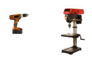 Drill Press Vs. Hand Drill
