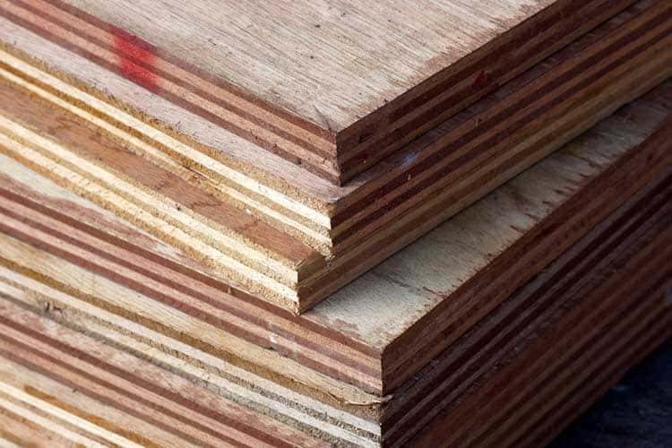 Industrial Plywood background.