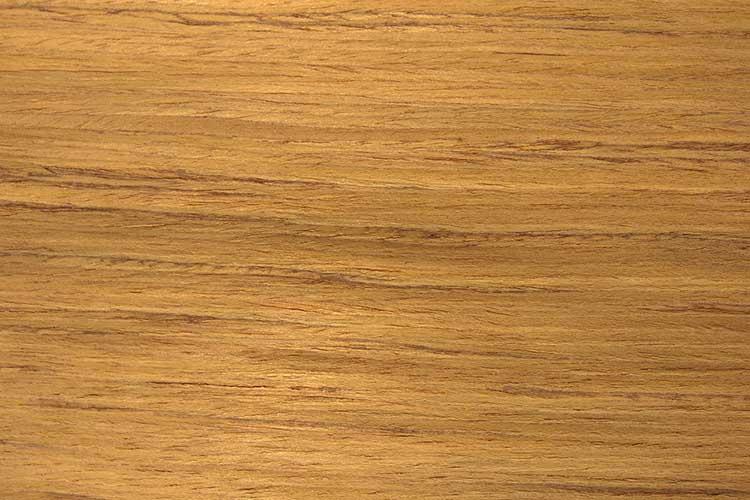 Natural Dark burma teak wood veneer close up image. natural text