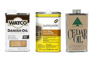 Types of Finishing Oil for Wood