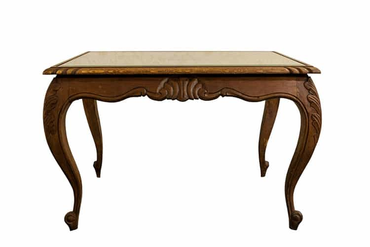 French XIX century antique furniture made from oak wood