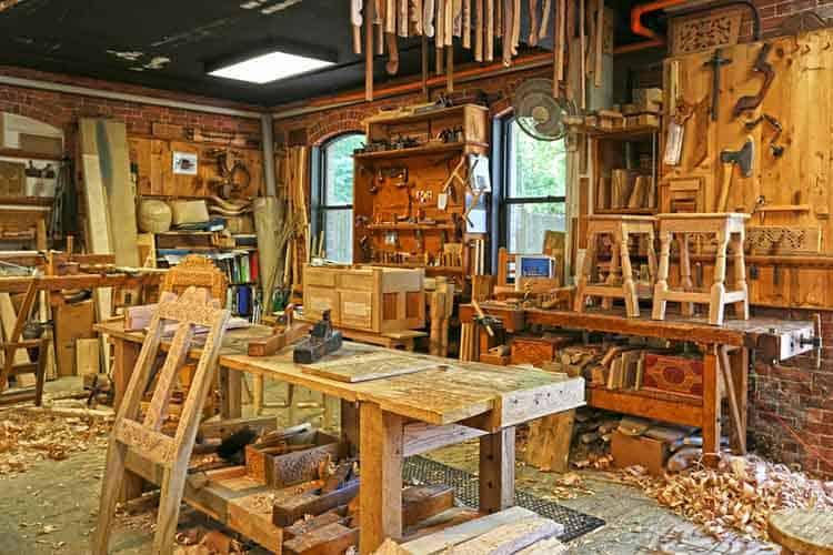 Old Workshop Place