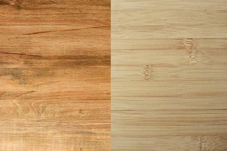 teak wood vs bamboo flooring