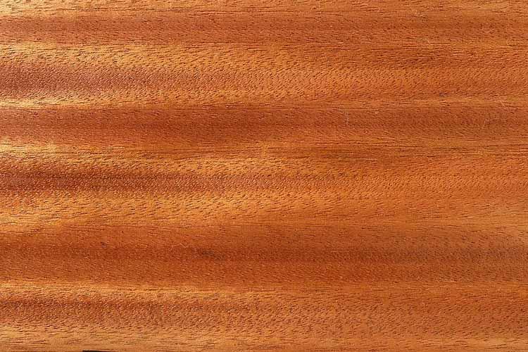 Sapelli-Mahagoni Holz