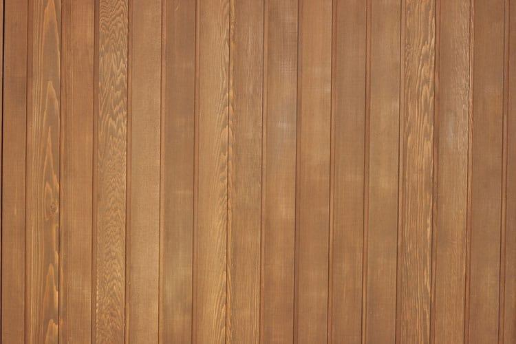 A western Red Cedar Panel in a loungeroom